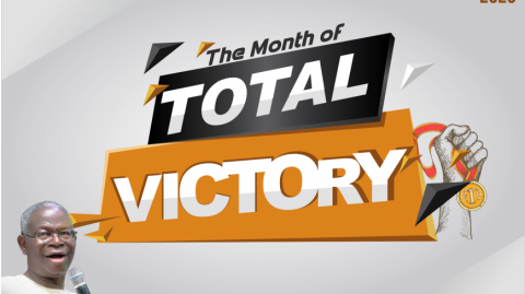 Janurary - Our Month of Total Victory