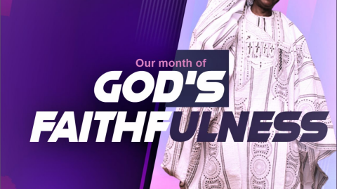 August - Our Month of God