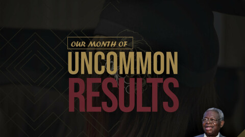 November - Our Month of Uncommon Results