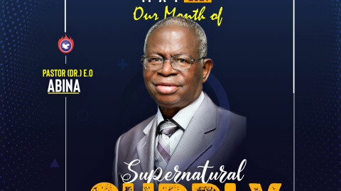 May – Our Month of Supernatural Supply